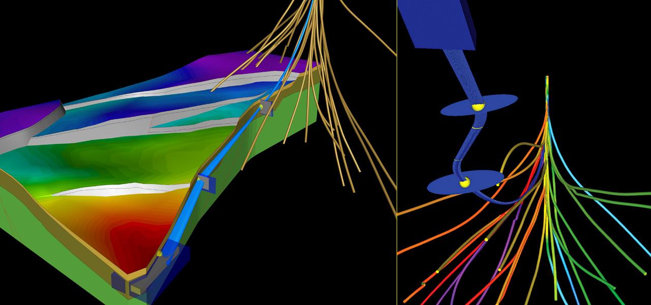well trajectory design
